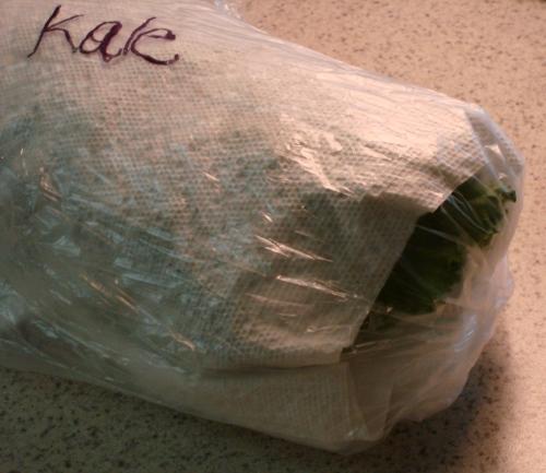 final kale storage