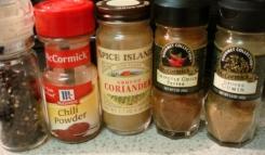 onion pepper saute spices