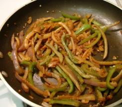 onion pepper saute