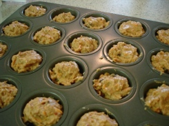 24-carrot muffins before bake