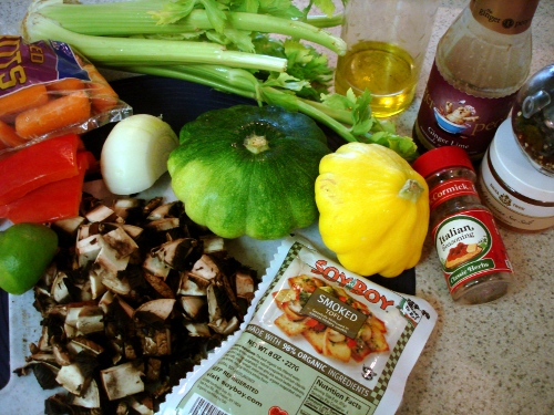 'leftovers' stir-fry/ fried rice - ingredients