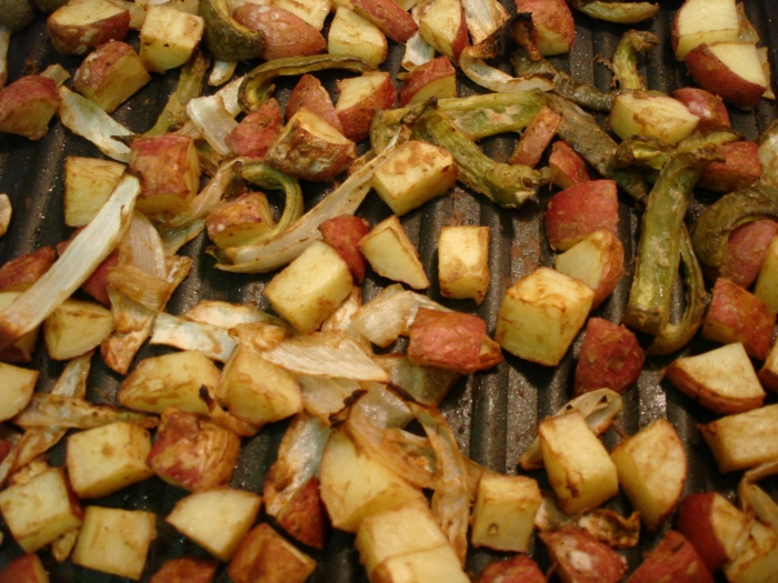 dijon mustard oven-roasted potatoes