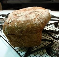 pumpernickel bread - spill over