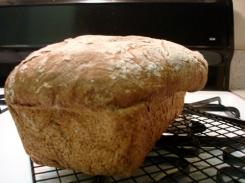pumpernickel bread - spill over - 2